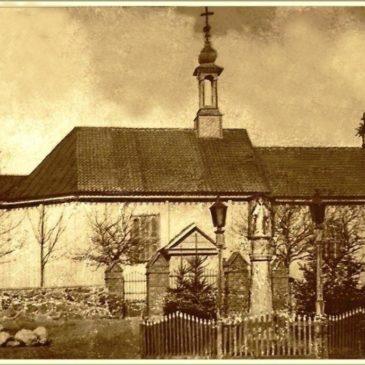 Kościół parafialny sprzed 1911 roku