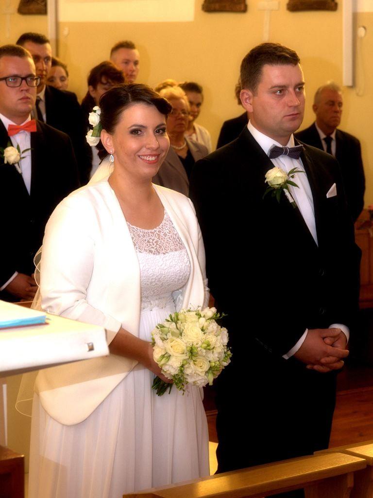 Magdalena i Konrad, 5 września 2015, zdj. Magdalena Brulewicz