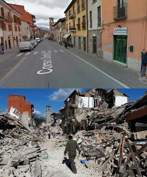 Amatrice - zdjęcie Toskania i Włochy jakich nie znacie (fb)