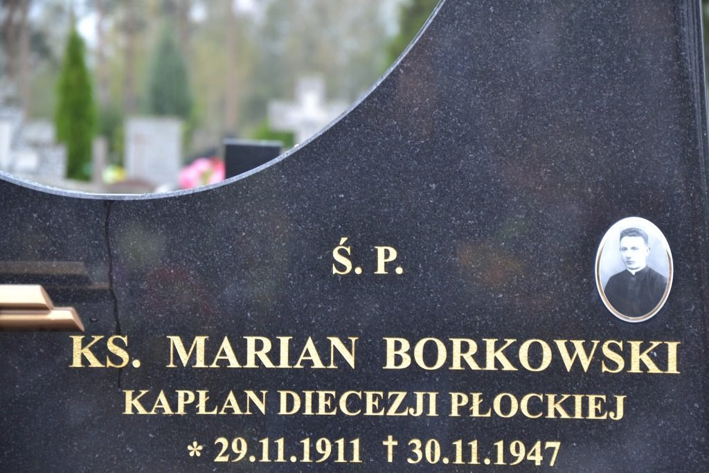 ks. Marian Borkowski / Cmentarz w Ostródzie / zdj. M.Tchórz