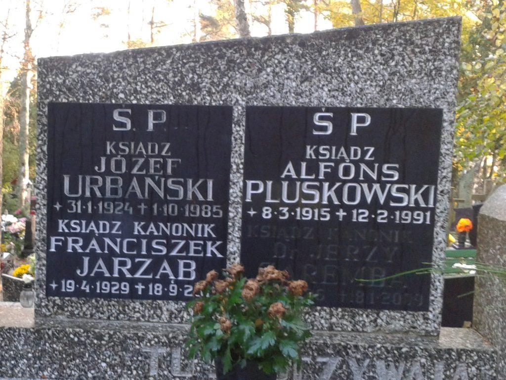 ks. Józef Urbański / Cmentarz w Sopocie / zdj. J.Watkowski