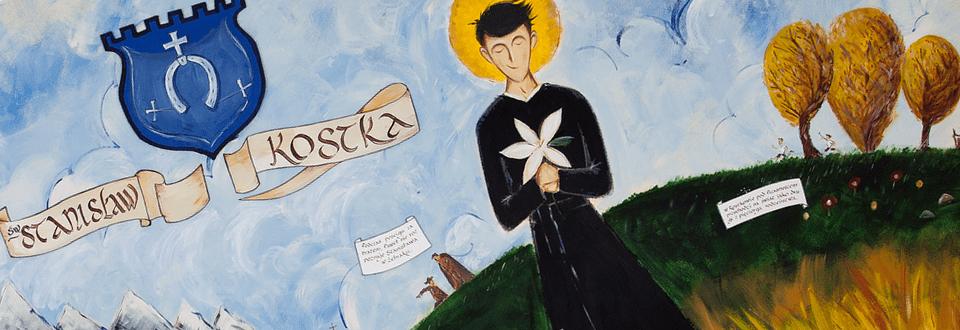 Portret św. Stanisława Kostki