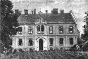 Klasztor w Kętach na przełomie XIX i XX wieku