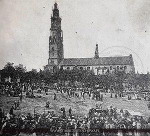 Jasna Góra w czasach misji s. Petroneli w Częstochowie