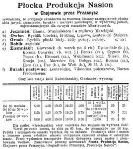 Gazeta Rolnicza 15 sierpnia 1900